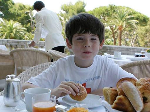 Ein Kind im Sternerestaurant